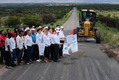 Reconstruyen carretera Mirador – San Bernardo en el municipio de Indé
