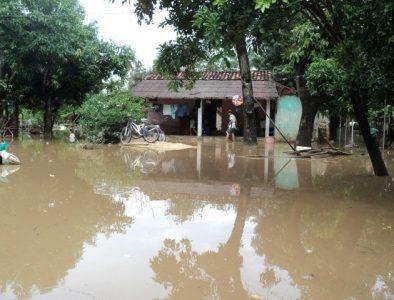 Reporta UEPC 109 viviendas afectadas por lluvias en el municipio de Canelas