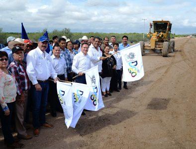 Inicia Estado modernización de carretera en Tlahualilo