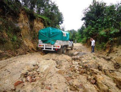 Destrozan lluvias caminos rurales de San Dimas