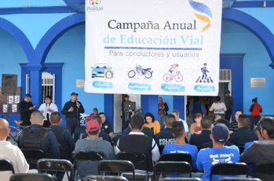 Inician campaña de educación vial en Poanas
