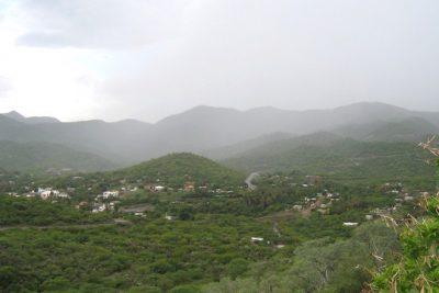 Esperan lluvias moderadas en Las Quebradas y zona norte del estado