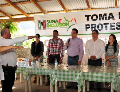 Renueva PRI comité directivo municipal de Topia