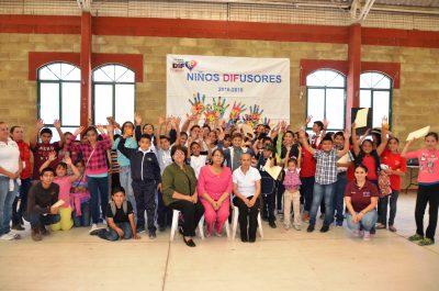 Realizan en Poanas el Tercer Encuentro de Niños Difusores