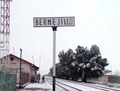Caen nevadas en más de 10 municipios de Durango