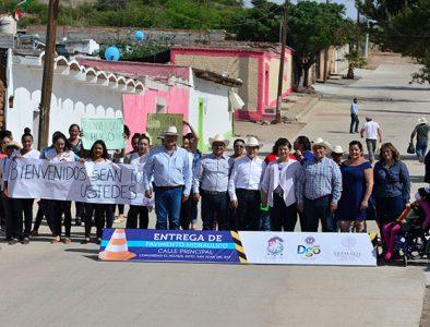 Entregan obras en diversas comunidades de San Juan del Río