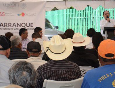 Inaugura Sedesol un Centro de Atención Regional en Santiago Papasquiaro