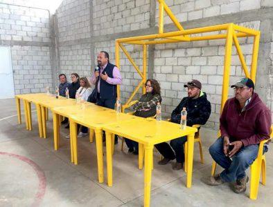 Entrega Guanaceví infraestructura deportiva y social en poblado La Posta de Jihuites