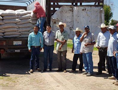 Recibe Súchil apoyo de SAGDR para agricultores y ganaderos de la región