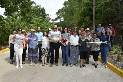 Con pavimentación, Tamazula mejora acceso vehicular para habitantes de zona Norotal y Coluta