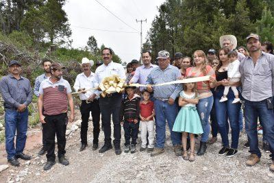 Entrega Tamazula otra red de energía eléctrica, ahora en la zona de El Durazno