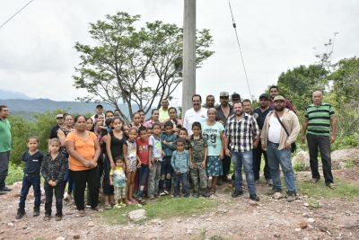 Inaugura Tamazula red de energía eléctrica 'La Cieneguita'