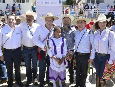 """Entregan Casa del Niño Indígena """"Morelos"""" en Mezquital"""