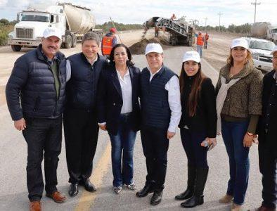 Entregan 40 km de ampliación de tramo carretero Durango-Parral