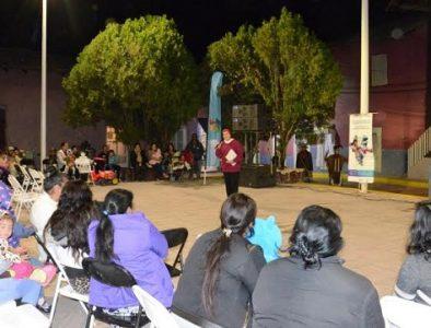 Lleva ICED actividades culturales a Canelas y Otáez