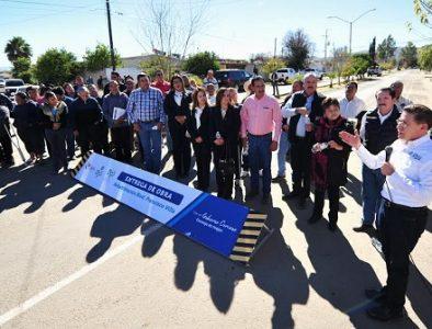 Entrega Gobierno del Estado modernización de bulevar Francisco Villa en Rodeo