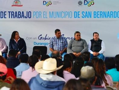 Con energía renovable y mejores caminos, modernizamos San Bernardo: Aispuro