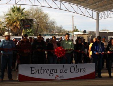 Entrega Alcalde de Rodeo diversas obras