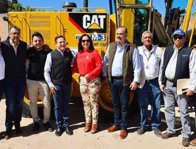 Trabajo en equipo genera más obra en Santiago Papasquiaro: Aispuro