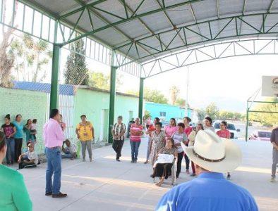 Inicia instalación de equipo fotovoltaico en tres comunidades de Rodeo
