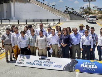 Mejoramos movilidad en La Laguna: Aispuro