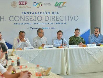 Universidad Tecnológica de Tamazula lista para iniciar ciclo: Aispuro