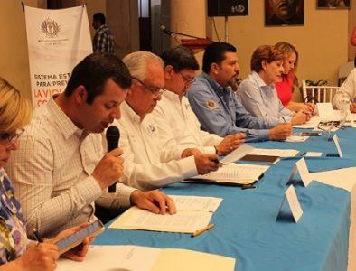 Se reúnen autoridades en Santiago Papasquiaro