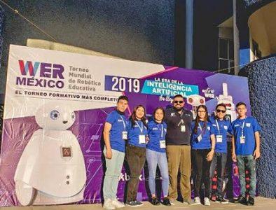 Lerdenses van a concurso nacional de robótica 2019