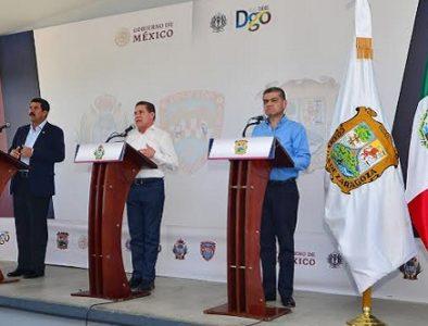 Durango, Chihuahua y Coahuila juntos para mejorar niveles de seguridad
