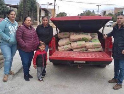 Entregan apoyos para diferentes causas en Guadalupe Victoria