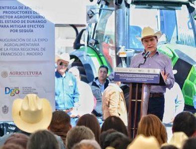 Productores de Los Llanos reciben más de 35 mdp en apoyos