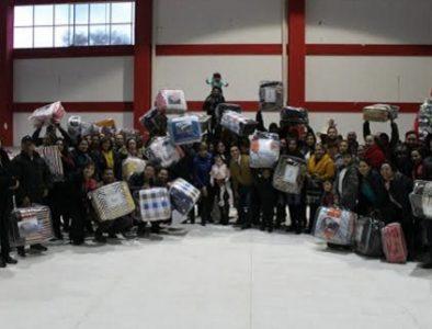 Gobierno municipal de Canatlán celebra posada navideña