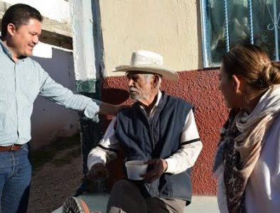 Continúa programa de alimentación para adultos mayores en Peñón Blanco