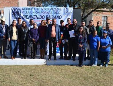 Inicia el operativo 'Bienvenido Paisano' en Poanas