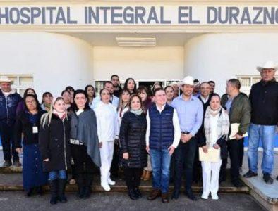 Gobernador supervisa operación de Hospital Integral El Durazno en Tamazula