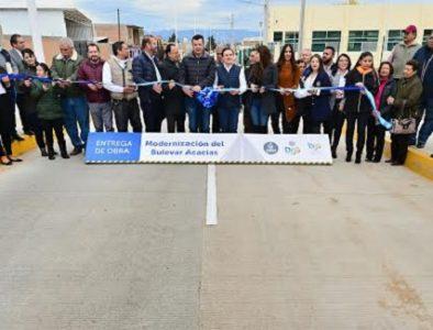 Entrega Gobernador paquete de obras en Santiago Papasquiaro