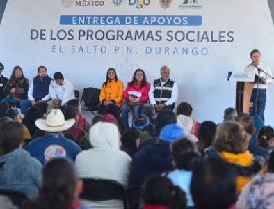 Programas Sociales llegan a Pueblo Nuevo