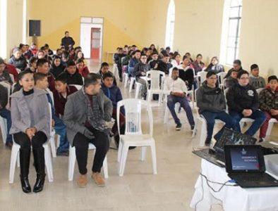 Imparten en Canatlán la conferencia 'Violencia en la Sociedad'