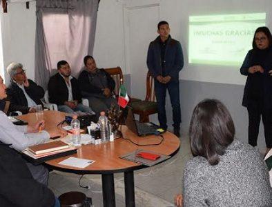 Presentan resultados del 'Centro de Desarrollo para las mujeres 2019' de Peñón Blanco