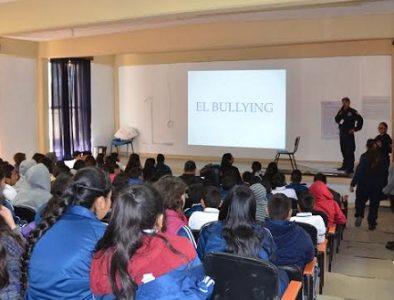Imparten pláticas acerca del bullying en escuelas de Poanas