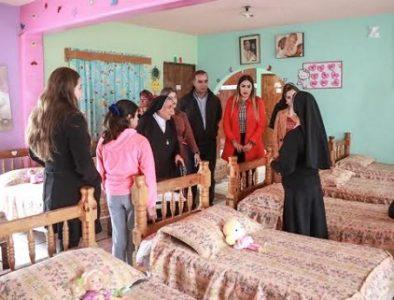 Salum visita Casa Hogar de la niña Juan Pablo II