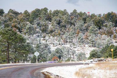 Vuelven nevadas a Quebradas y zona norte del estado