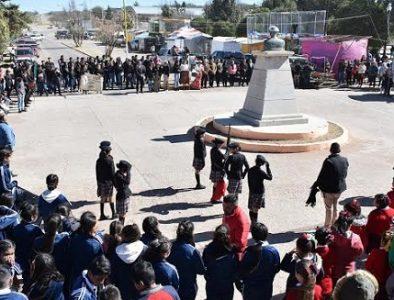 Conmemoran aniversario de la localidad Jesús Agustín Castro