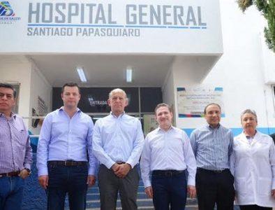 Confirman Ferrer y Aispuro nuevo Hospital en Santiago Papasquiaro