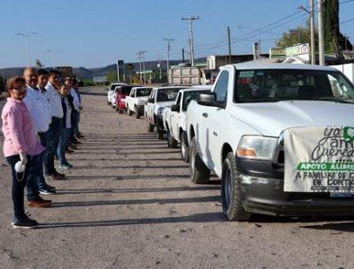 Ayuntamiento de Cuencamé inicia operativo de entrega de apoyos por contingencia del Covid-19