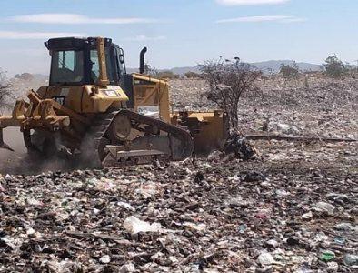 Logran clausura de basurero clandestino en Guadalupe Victoria