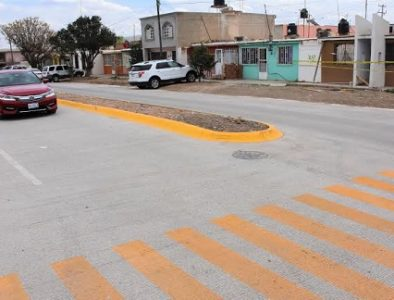 Pavimenta Secope calles en Guadalupe Victoria