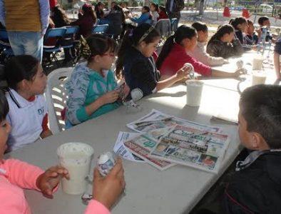 Participan 135 niños de Nuevo Ideal en jornada infantil 'Alas y Raíces'