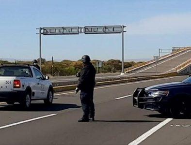 Policía Estatal participa en prevención del Covid-19