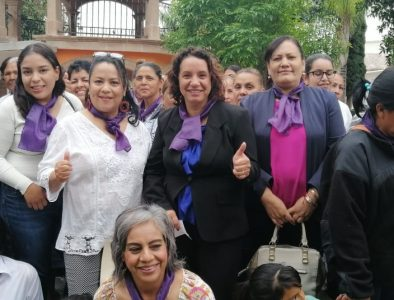 Reitera Alcaldesa de Rodeo su respaldo a mujeres de la región